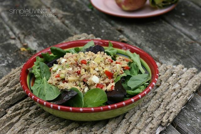Tuna Quinoa Salad