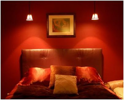 LIGHTING AND COLORS IN A BEDROOM - WHAT COLOR SHOULD I PAINT MY ROOM - WHAT COLOR MUST THE WALLS IN MY BEDROOM HAVE