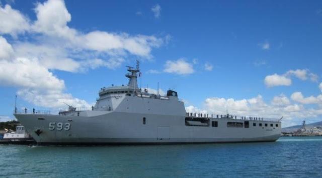 TNI AL Kerahkan Dua Kapal Perang Dukung Mudik Gratis
