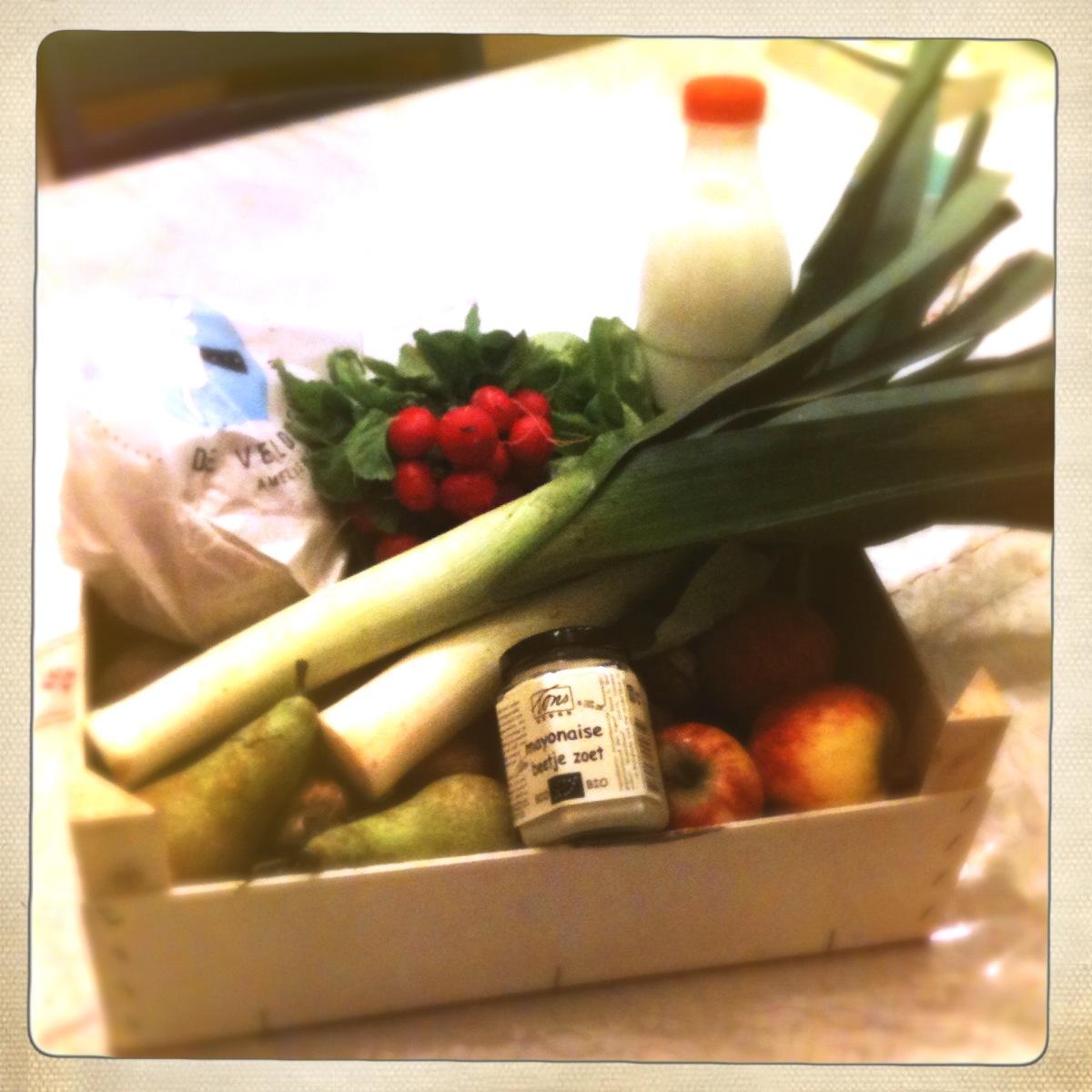 De krat van de streekmolen 1 foodiemoods - Krat met appel ...