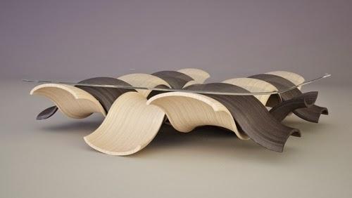 SIREN, Amazing contemporary coffee table by Svilen Gamolov