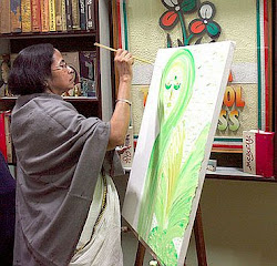 Mamata didi's art sold for more than a crore to raise party fund for campaign