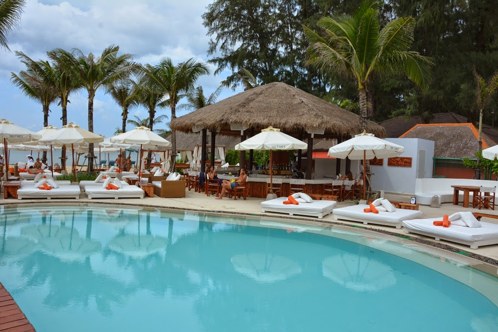Nikki Beach Club Phuket pool