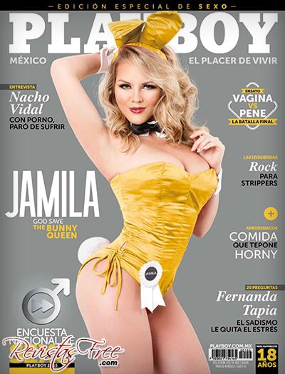 Jamila - Playboy Setembro 2015 México