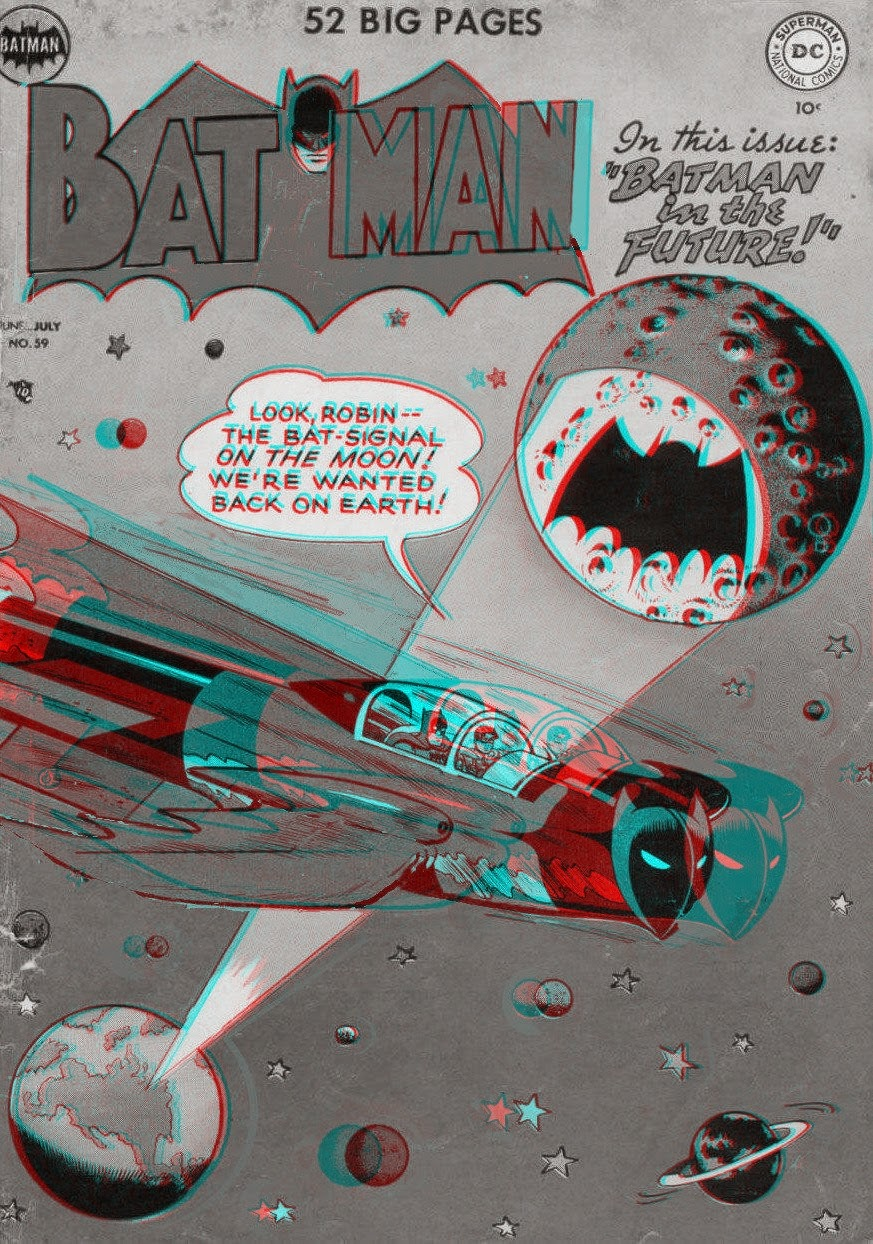 Comic Book Cover Paper : Saved from the paper drive comic book cover anaglyphs