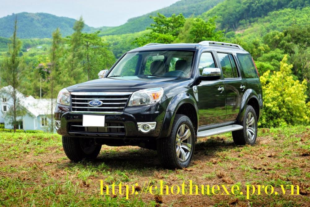 Cho thuê xe Ford Everest theo tháng giá rẻ tại Đức Vinh Trans