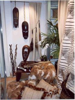Decoracion actual de moda decoraci n tnica - Decoracion etnica salones ...