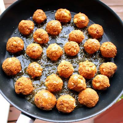 Oppskrift Masalaboller Kjøttfrie Kjøttboller Hjemmelaget Nudelrett Vegetar Vegan Tandoori Masala