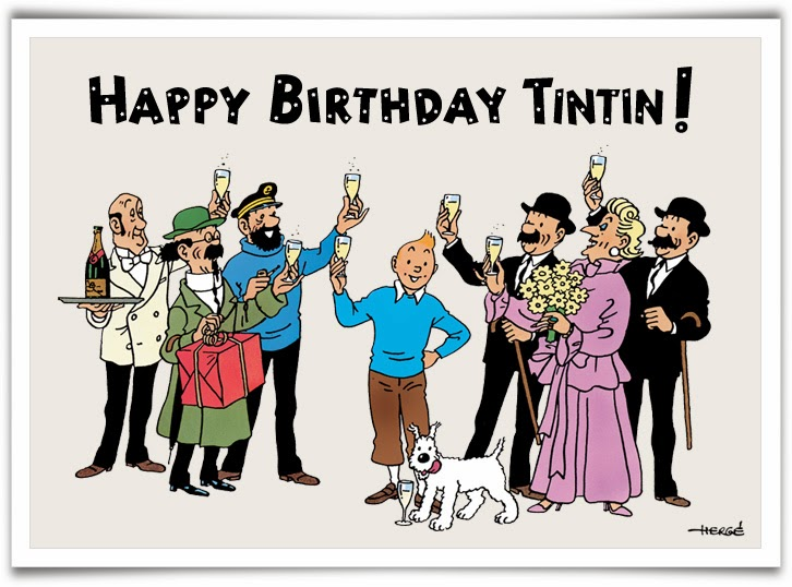 Tim Struppi 3 Gratis Malvorlage In Comic: Alter Mann Comic Geburtstag