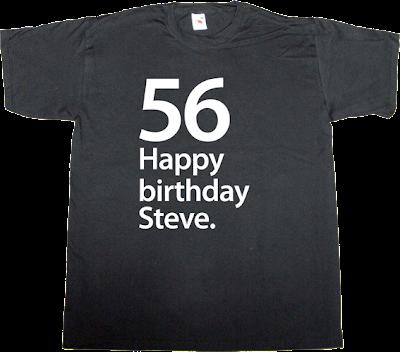 birthday steve jobs apple iphone ipad ipod mac macintosh t-shirt ephemeral-t-shirts