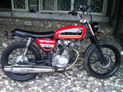Motor Cb100 Modifikasi Klasik Kota Bogor Oto Trendz