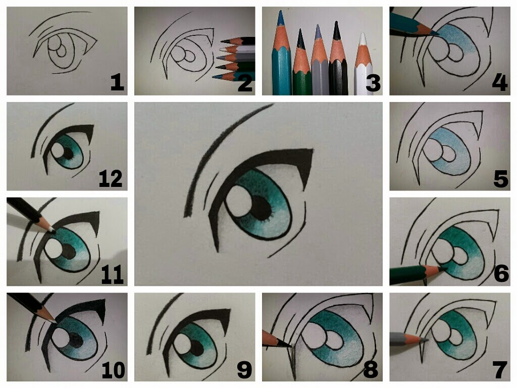 Desenho de Olho para Colorir Colorir Desenhos de  - imagens para colorir de olhos