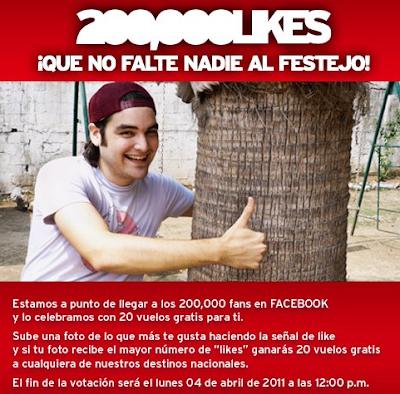 premios 20 vuelos gratis promocion VivaAerobus Mexico 2011