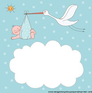 Imagen tarjeta baby shower niño
