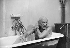 Málaga muestra al Picasso más íntimo y creativo a través del objetivo de Duncan