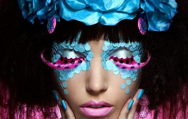 Фотосессия. Креативный макияж.
