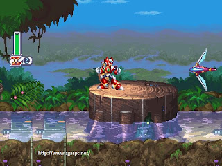 MegaMan X4 PSX ISO For PC Full Version Free Download ZGASPC