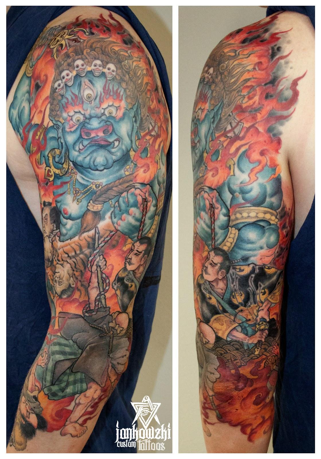 Jankowzki custom tattoos oriental tattoos for Oriental tattoo