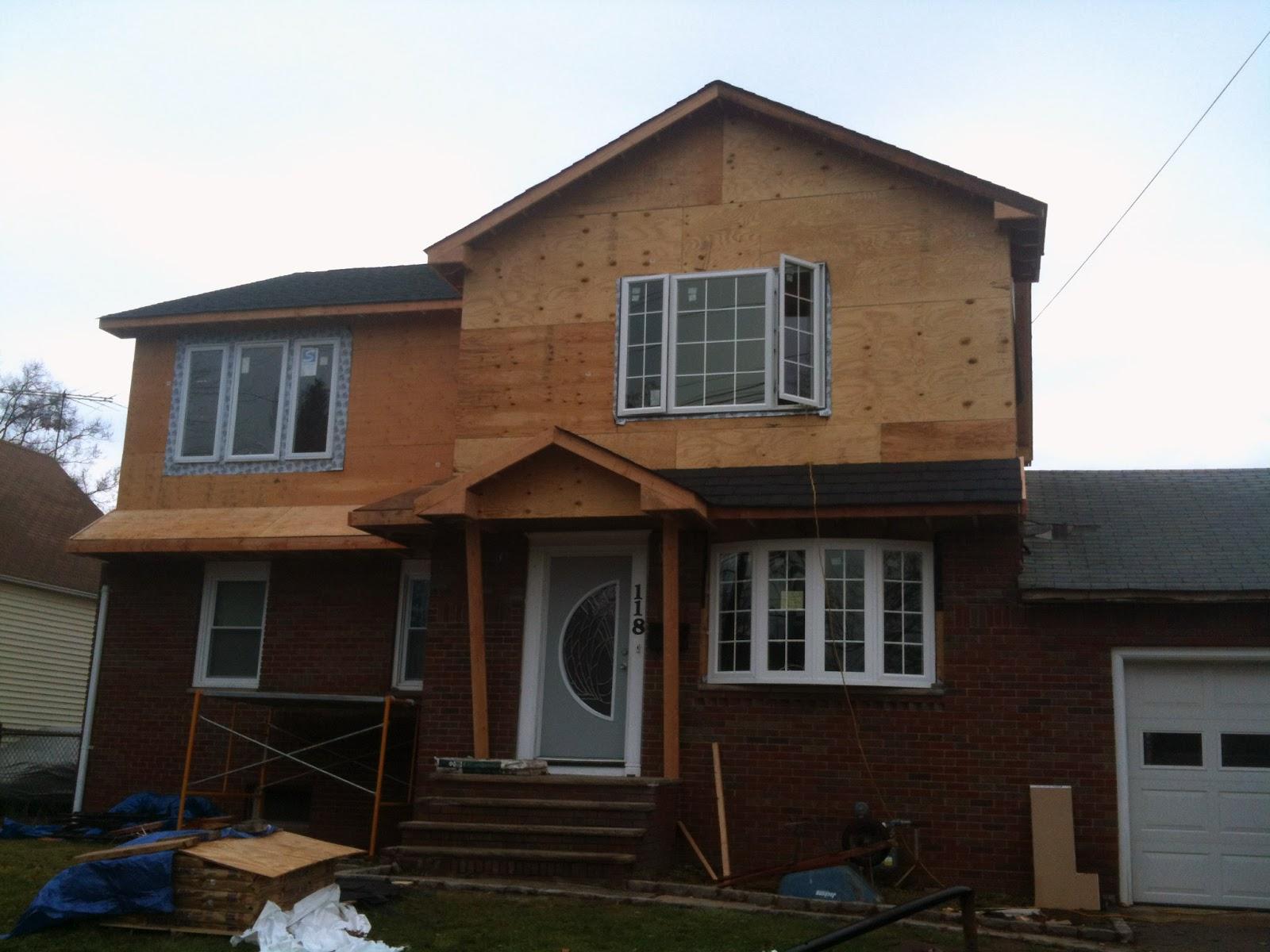 Under Construction: Second Floor Addition in Clark, NJ