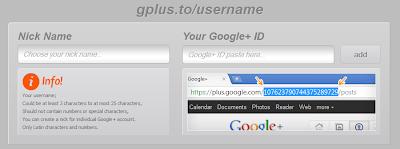 Bagaimana Cara Mengganti URL Google Plus (gplus.to/username)