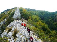 Visita completa alla val Rosandra - gita del gruppo Vecchio Scarpone