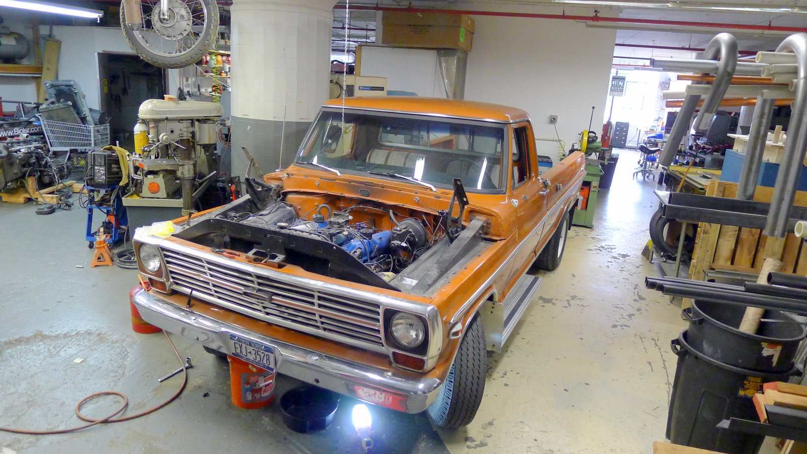 A Diesel Conversion Of 1969 Ford F250 Camper Special We Start