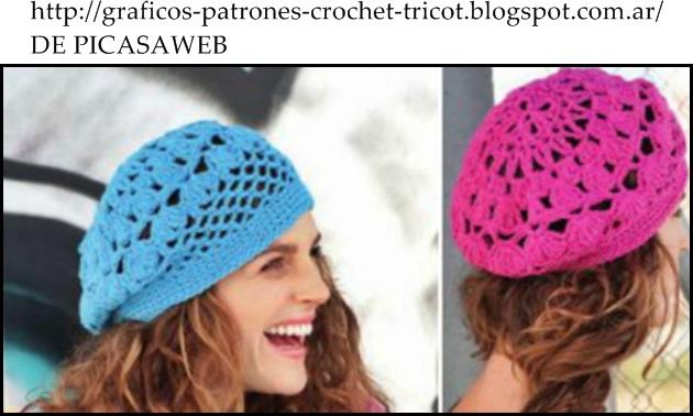crochet fabric , CROCHET - GANCHILLO - PATRONES - GRAFICOS: BOINAS ...