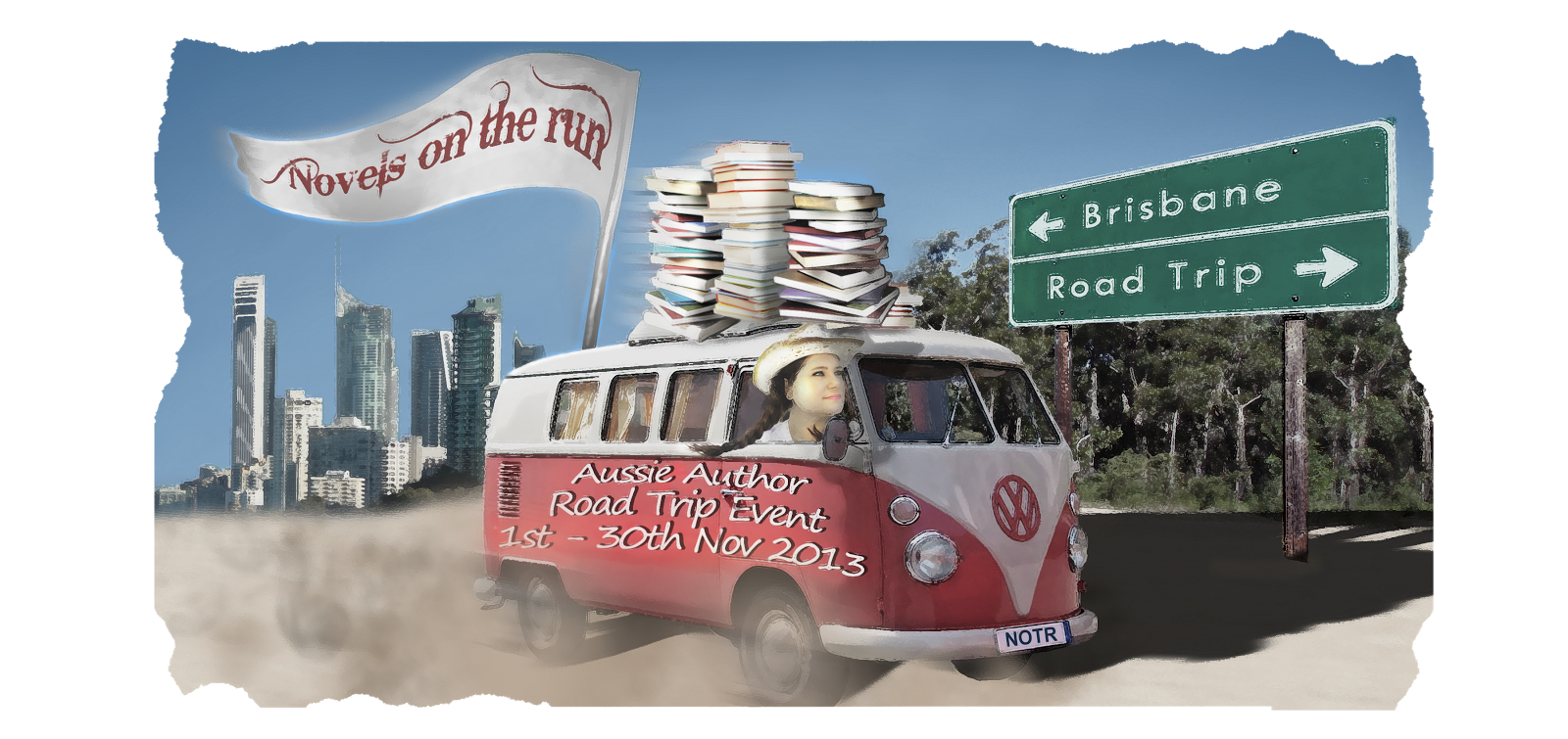 AUSSIE AUTHOR ROAD TRIP - BANNER by SUZI