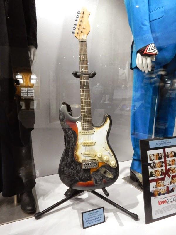 Warehouse 13 Jimi Hendrix Burnt Electric Guitar prop