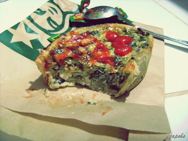Starbucks Spinach And Mushroom Quiche Big Dreamer