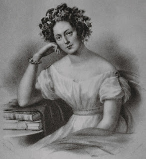 Pencil Drawing of Maria Szymanowska, Polish Library, Paris
