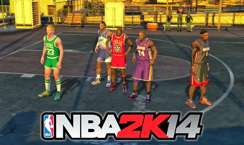 NBA 2K14 PC Blacktop Roster - All Players Unlocked