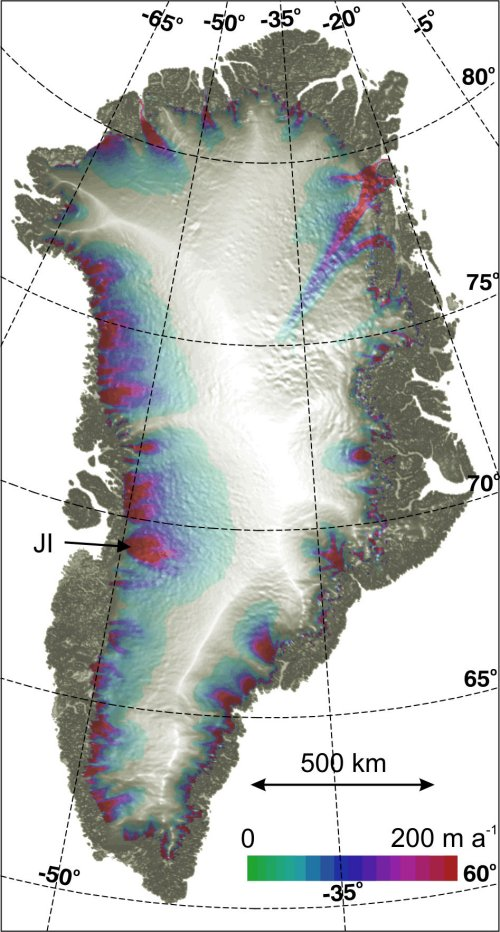 Gangstersout Blog Greenland S Jakobshavn Glacier Sheds