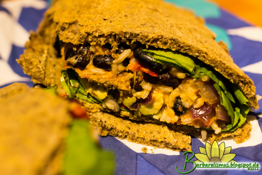 Barbarelismus: Black Bean and Butternut Squash Burritos