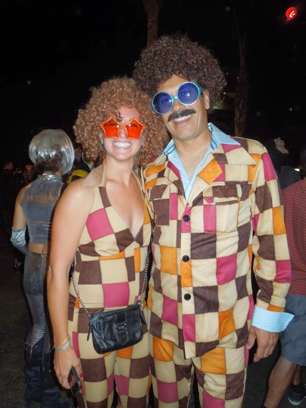 Groovy West Hollywood Halloween costumes 2013