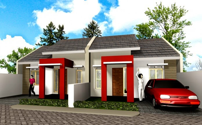 gambar desain rumah sederhana modern berbagai type 21