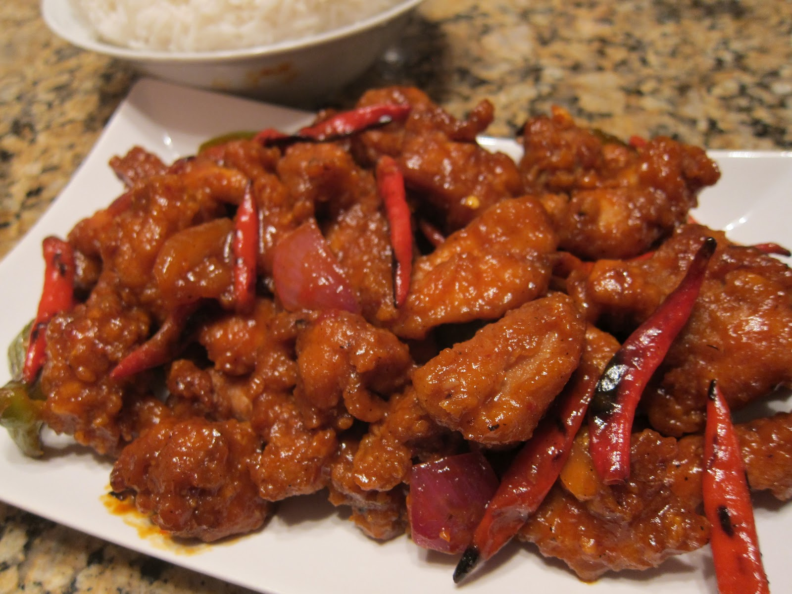 "Chili Chicken - ""Indo-Chinese"" Style"
