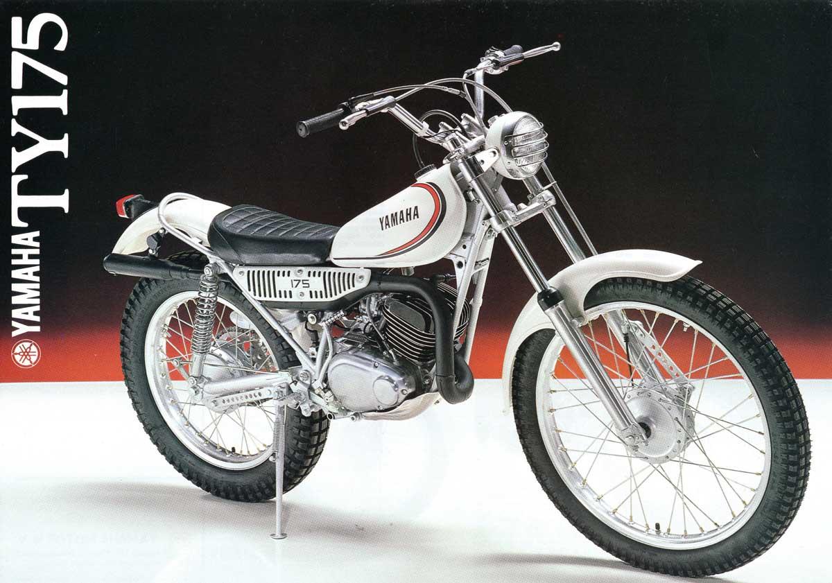 my motorcycle restoration diary notes ty175 brochure rh motorcyclerestorations blogspot com Yamaha TY 175 Trials Bike Yamaha CT1