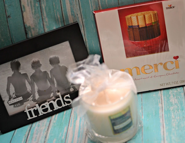 #Giveaway Target GC, Merci Chocolates, Candle and Frame