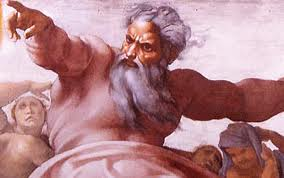 Image result for an angry old testament god