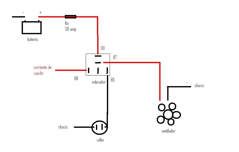 taller mecanico automotriz  conexion de ventilador con