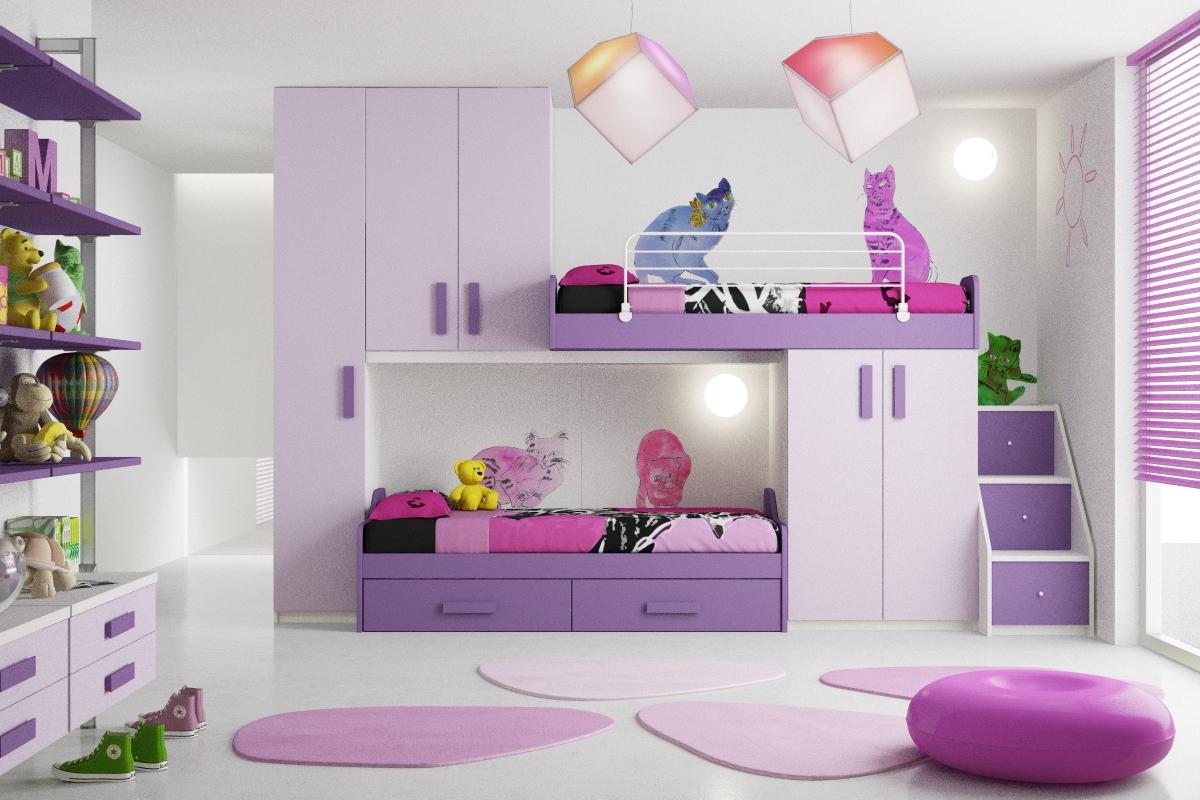 Bonetti camerette bonetti bedrooms novita 39 camerette 2012 for Parete cameretta bambina