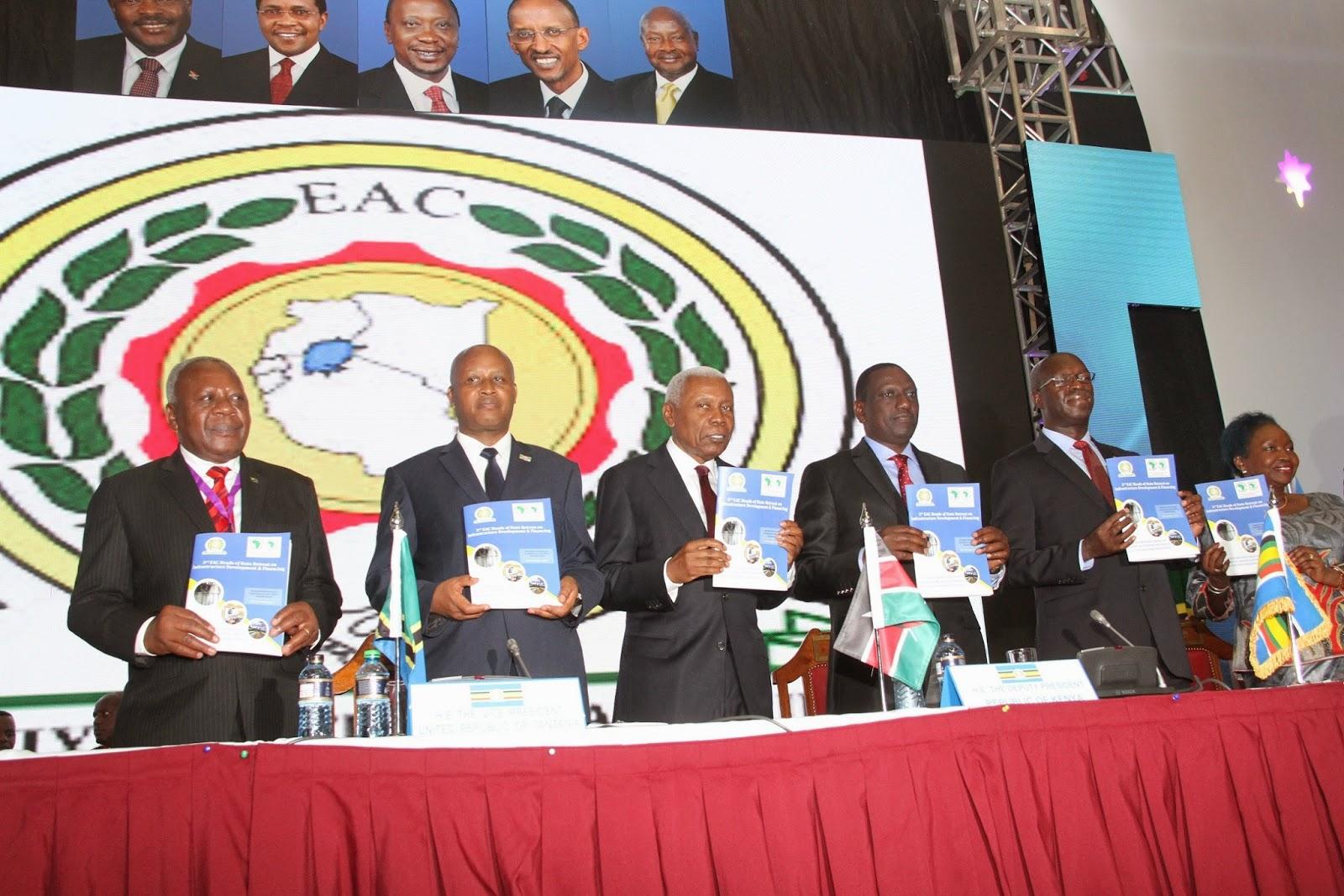 MAKAMU WA RAIS DKT. BILAL AIWAKILISHA TANZANIA KATIKA MKUTANO WA 3 WA WAKUU WA NCHI ZA AFRIKA MASHARIKI (EAC) KUHUSU MIUNDOMBINU JIJINI NAIROBI, KENYA