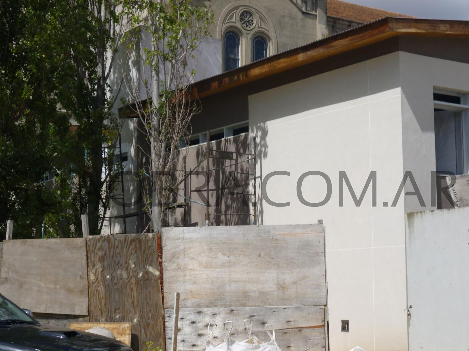 Combinaci n de tarquini colegio la salle florida for Revestimiento plastico para paredes