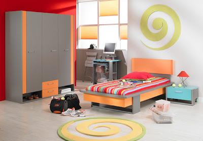 design chambre ado. Black Bedroom Furniture Sets. Home Design Ideas