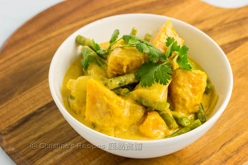 Pumpkin & Green Bean Red Curry02