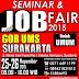 Seminar dan Job Fair 2015 di GOR UMS Surakarta - Tanggal 25 - 26 November 2015