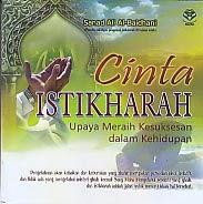 toko buku rahma: buku CINTA ISTIKHARAH, pengarang sanad ali al baidhani, penerbit amzah