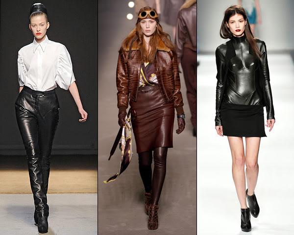 Elegant Leather Pants