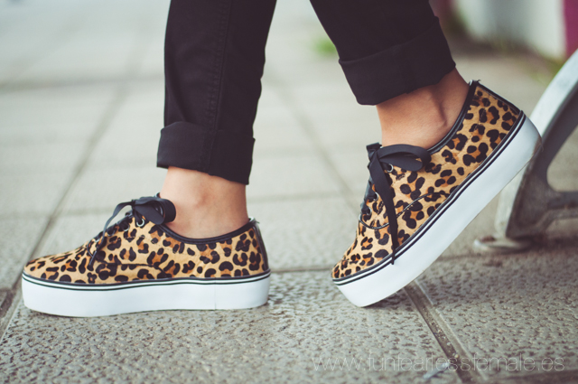 sneakers, leopard, Stradivarius, autumn winter 2014